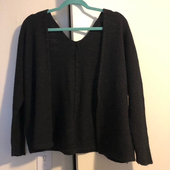 PacSun Sweaters - Black wool cardigan